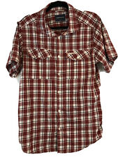 Craghoppers Medium Short Sleeve Red Check Shirt