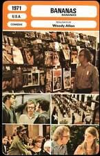 BANANAS - Woody Allen (Fiche Cinéma) 1971