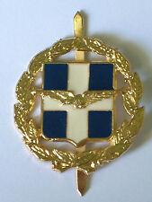 Greek Cypriot Military Air Force Cap Badge Original
