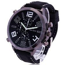 Gorgeous Oversize Dial Cool Men's Army Military Luxury Sport Quartz Wrist Watch
