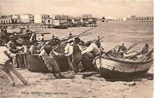 S. SPIRITO  ( Bari )  -  Tirata delle barche