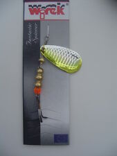 WIREK LUSK HOLOGRAPHIC SPINNER LURE 10g - SIZE 3 BLADE - for all PREDATORY FISH