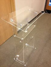 Acrylic/Podium/Plexiglas/Lectern/Lucite/Pulpit/Clear/Beautiful/Clear Podiums