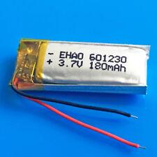 180 mAh 3.7 V Batteria Ricaricabile Li Po per MP3 MP4 Smart Watch Per Cuffie 601230