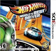 Hot Wheels: World's Best Driver With Bonus Hot Wheel Car  (Nintendo 3DS)