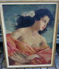 Gorgeous, Maria Szánthó (c.1898-1984) Hungarian painter - Oil on canvas