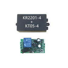 1CH RF 433MHz Wireless Remote Control Switch Module Learning Code Relay AC 220V