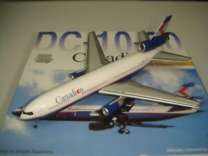 """Dragon Wings Canadian Airlines DC-10-30 """"1980s color - Pride of Canada""""  1:400"""