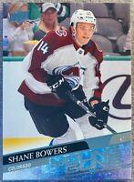 2020-21 Upper Deck #240 Shane Bowers Young Guns