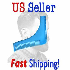 AWESOME Beard Shaping Grooming Comb Tool For Perfect Lines & Symmetry US Seller!