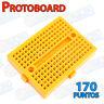 MINI Protoboard 170 puntos AMARILLO enlazable protoboard prototipo Arduino pic