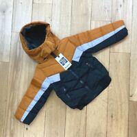 Boys Winter Hooded Coat / Jacket Age 1 2 3 4 5 YRS