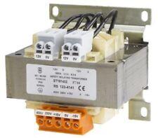 RS Pro 130VA Isolation Transformer, 15 â?? 400V ac Primary, 12V ac, 115V ac Seco