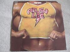 ALVIN LEE - PUMP IRON - Vinyl LP Columbia WLP PROMO N MINT WAX Ten Years After