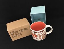 Starbucks NEVADA 2017 Been There Series Across The Globe Collection Mug in Box