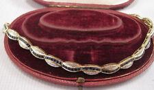 "Yellow Gold VS1 Fine Diamond Bracelets 7 - 7.49"" Length"