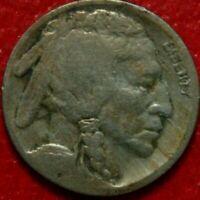 1921-S Buffalo Nickel , VERY GOOD , US Coin!