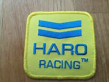 Yellow Haro Chevron BMX Park Street Racing Bikes Bicycle Bicycles Patch