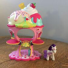 My Little Pony Ponyville Sweet Sundae Ice Cream Shop Play Set 2007 Hasbro MLP
