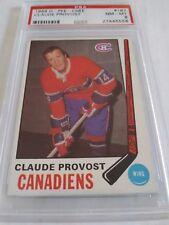 Claude Provost 1969-70 Topps PSA 8 Near Mint Mint Canadiens