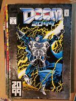 Doom 2099 #'s 1-8, 10, 11, 12 & 18  Marvel 1993  (12 Book Lot)   (S434)