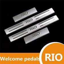 Stainless Steel Scuff Plate Door Sill Threshold For KIA RIO k2 Sedan Hatchback
