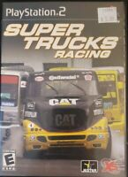 Super Trucks Racing (Sony PlayStation 2, 2003) Complete Game With Manual PS2
