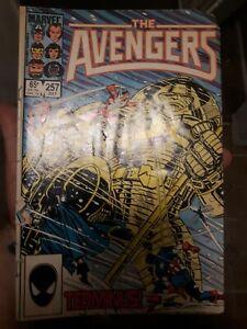 Avengers #257 / 1st app of Nebula / Marvel Comics / Guardians of the Galaxy