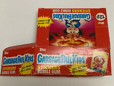 More details for 1988 uk / ireland garbage pail kids 6th series empty box (1-117-0-7)
