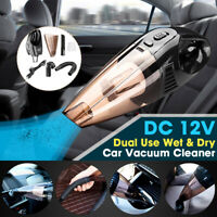 Car Vacuum Cleaner Handheld Wet Dry Dirt Dust Paper Hair Cleaning 100W A-016 US