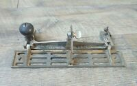 Vintage Stanley Sweetheart No. 386 Plane Fence Adjustable Jointer Gauge Tool