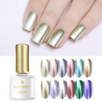 BORN PRETTY 6ml Soak Off UV Gel Polish Mirror Metal Nail Art Varnish 12 Colors