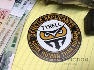 Blade Runner - Prop Tyrell Replicants Sticker / Weatherproof Set Dressing Decal
