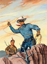 "The Lone Ranger Illustration Art 13 x 19""  Photo Print"