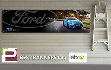 Ford Mk3 Focus RS Banner, for Workshop, garage, PVC sign, 'RS is Coming'