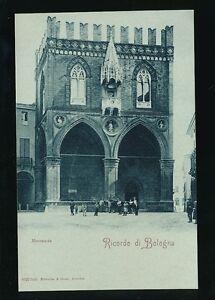 Italy RICORDO DI BOLOGNA Mercanzia c1902 u/b PPC