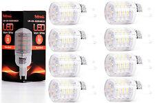 8X G9 LED Lampe von Seitronic mit 3 Watt, 240LM und 48LEDs - Warm weiß 2900K