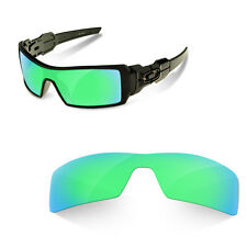Polarized Replacement Lenses for oakley oil rig sapphire green color