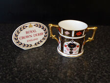 Royal Crown Derby Old Imari 1128 Loving Cup 1985 1st Quality