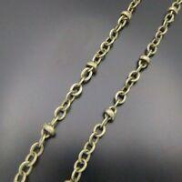 4M Antique Bronze Brass Jewelry Necklace Chains 3x3MM