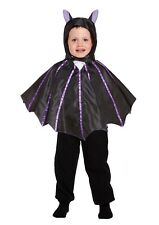 Toddler Fancy Dress Bat Top with Hood Costume Halloween Ages 2-3 Years