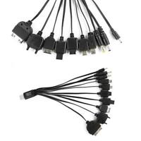 Portable USB 10 in 1 Charge Cable Multi Charger Cable Cord for iPhone Samsung