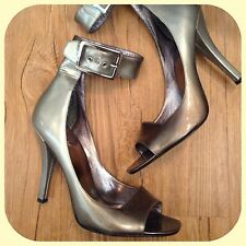 new $248 marciano guess abigayle ombré sil leather pumps HEELS SHOEs 9 sold out