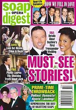 Bold & the Beautiful, Justin Lindsay Hartley - August 10, 2015 Soap Opera Digest