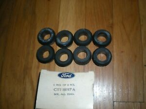 NOS 1956 - 1959 Ford Truck 302 332 Rocker Arm Cover Grommets B9A-6570-A