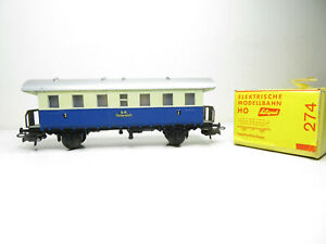 248/1 HO - Liliput 274 HO - Personenwagen 2.Kl blau/creme der ÖBB - mit VP