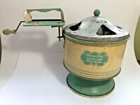 Vintage 1930's Sunny Suzy Washing Machine Child's Tin Toy Metal Very Nice!!!