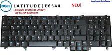 Dell Latitude E6540 Tastatur Keyboard, deutsch, LED beleuchtet Backlit
