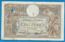 GERTROLEN  Billet 100 FRANCS  Luc Olivier Merson 16-6-1938  R.59763