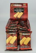 24 Walkers Shortbread Finger Snacks 2 Biscuits 40g Each Pack